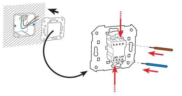 Cambiar interruptor c mo conectar los cables al nuevo - Instalar interruptor conmutador ...