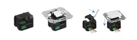 el mdulo regulador permite regular conectar o desconectar la luz mediante pulsadores lo cual es una interesante opcin para familias que