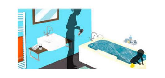 accidente electrico agua
