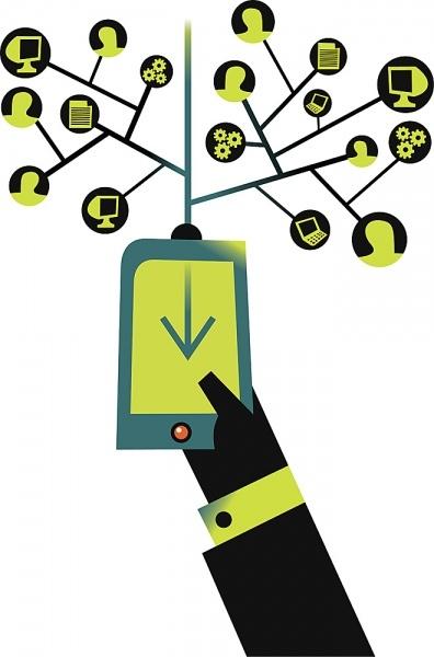 Controlar home cinema con dispositivo móvil