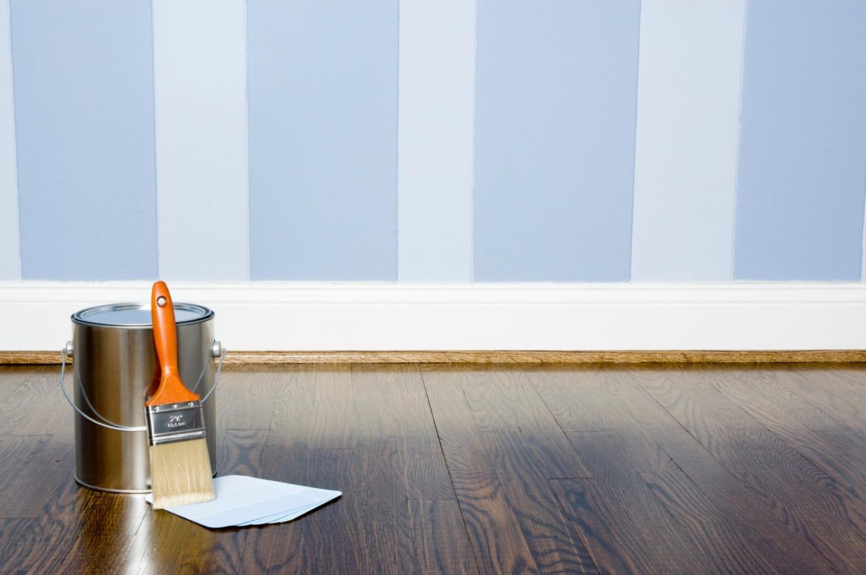 Pared pintada a rayas perfect hanmero simple diseo papel tapiz rayas no tejido papel de pared - Pared pintada a rayas verticales ...