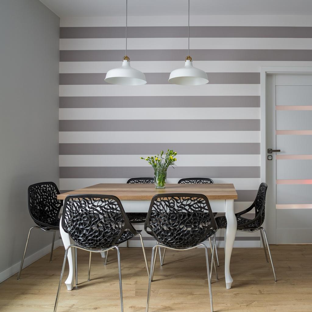 Pared pintada a rayas best free paredes de rayas - Disbar papeles pintados ...