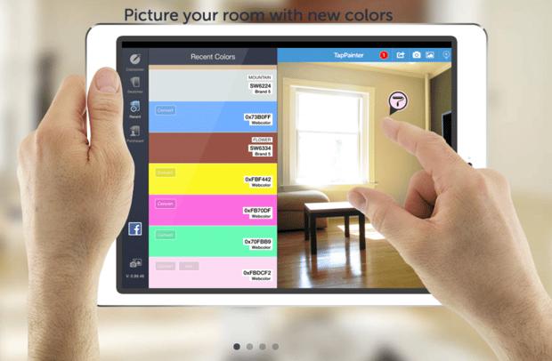 El simulador de pinturas que ahorra tiempo y dinero - Simulador colores habitacion ...