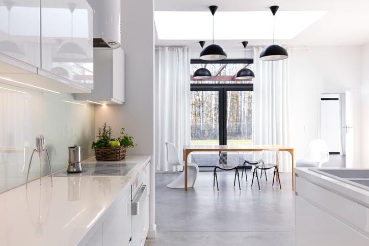 cocina y salon juntos