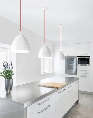 cocinas blancas cocinas modernas blancas cocinas blancas modernas - Cocinas Modernas Blancas