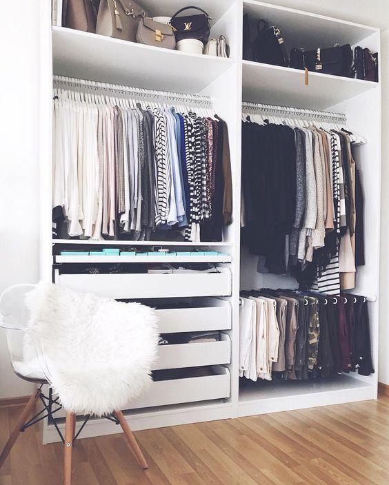 vestidores pequeños