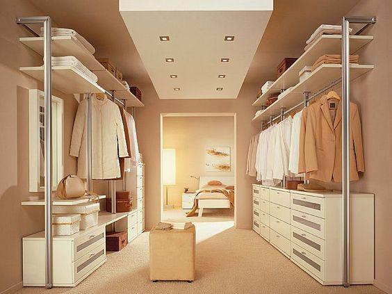 vestidores abiertos, vestidores sin puertas