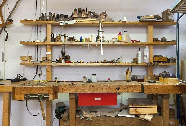 Organizar un taller de bricolaje en casa